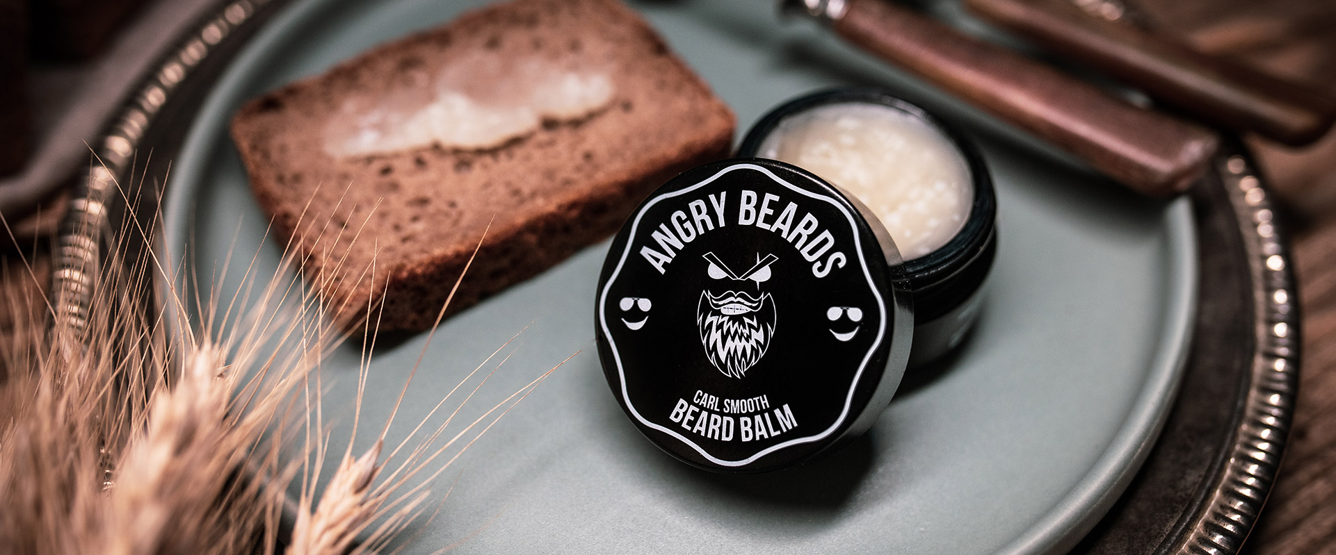 Angry beards beard balm balzam na vousy carl smooth obrazek